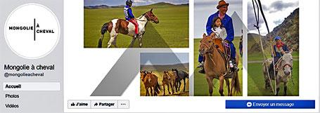 Mongolie Nomade sur Facebook