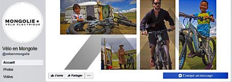 Mongolie en Vélo sur Facebook