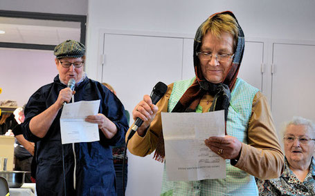 Un duo surprise avec Odette et Marie-Paule