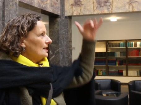 Beatrix van Ooyen, Booy-Verlag u. Ernst-Ludwig-Buchmesse, Screen: Bruno Rieb