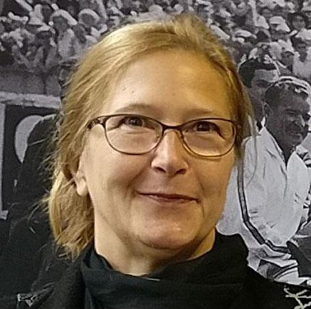 Christina Schmitt - Chefin vom TRIGA - Der Verlag, Foto: Beatrix van Ooyen