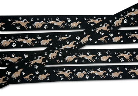Windhund Webband Windhunde Whippet Borte Hund