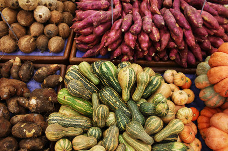 Unverpacktes Gemüse