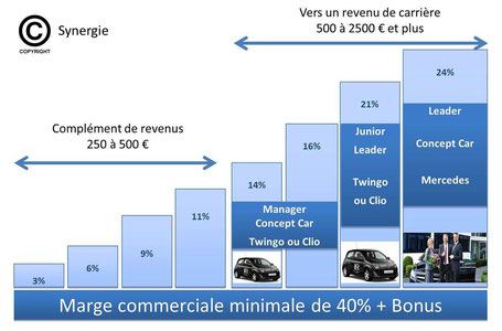 plan de rémunération synergie LR