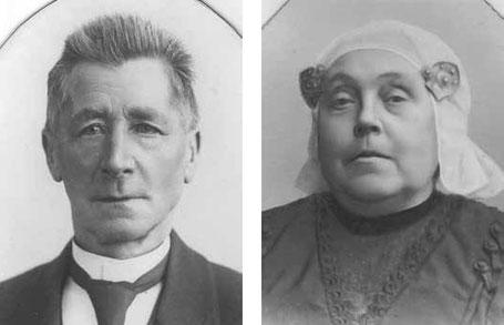 Gerrit Barkmeijer en Antje Hacquebord
