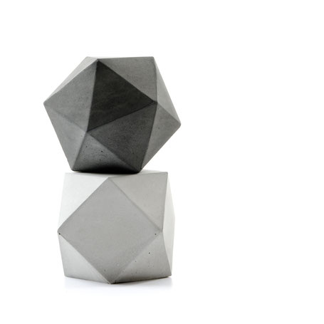 Geometric concrete sculptures by PASiNGA are a  5-star buy!