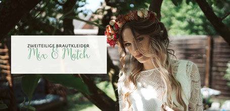 Brautkleid Zweiteiler MIX & MATCH