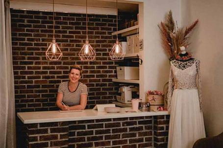 Atelier fuer Bio Brautmode I nachhaltige Brautkleider