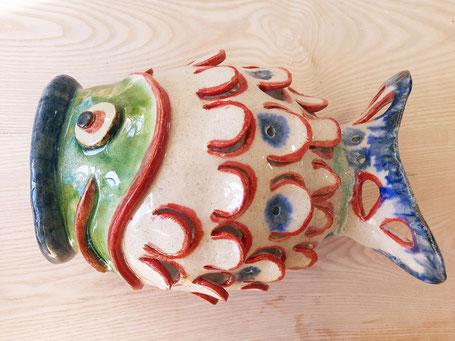 Taller de cerámica Benalmánena,Málaga koinobori