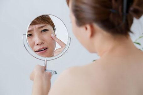 ポリフェノールで肌老化を防ぐ