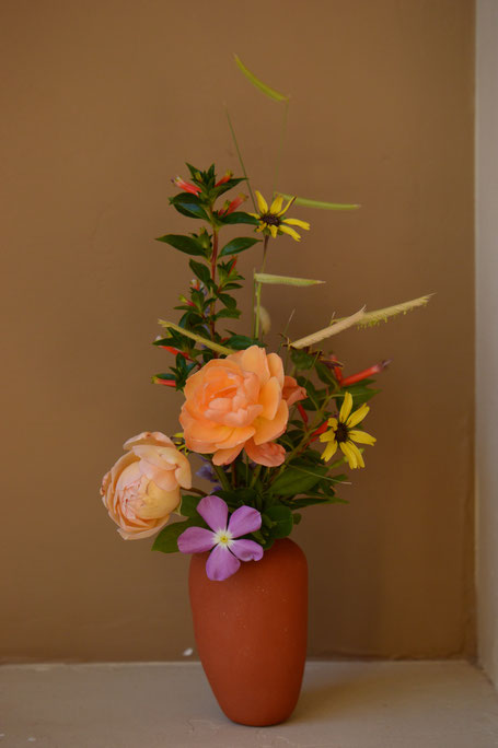 roses and other flowers for In a Vase on Monday