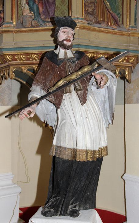 Hl. Nepomuk in unserer Heimatkirche