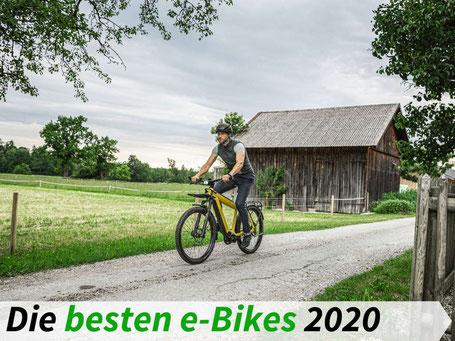 Die besten e-Bikes 2020