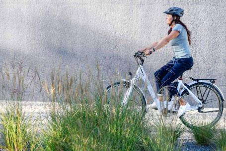 e-Bikes schonen die Gelenke