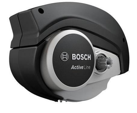 Bosch Active Line Motor für City e-Bikes