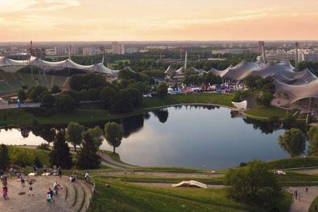 Blick auf das Veranstaltungsgelände 2018, Foto: eBike Days München