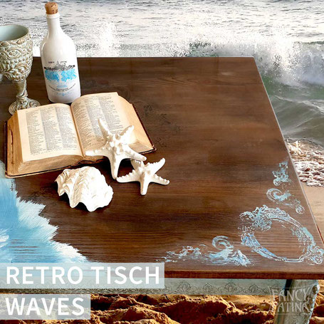 RETRO TISCH WAVES