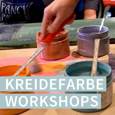 Workshops Kreidefarbe Chalk Paint Fancy Patina