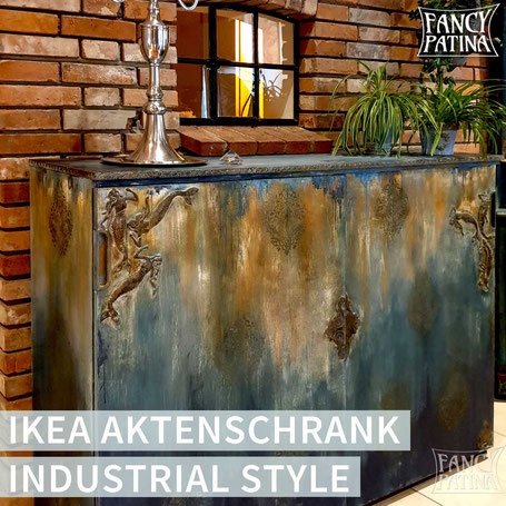IKEA AKTENSCHRANK GALANT - upcycled