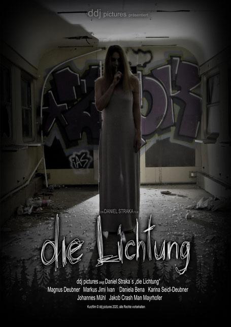 """Filmplakat Daniel Straka's """"die Lichtung"""", Kurzfilm, Österreich 2020"""
