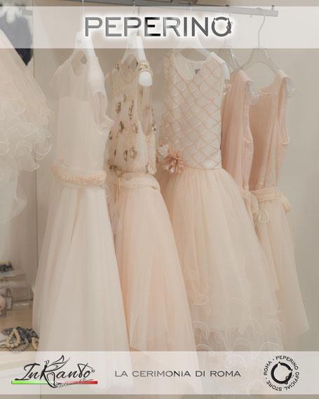 Abiti Eleganti Neonata Online.Abiti Cerimonia Bambini Roma Peperino Fashion Store