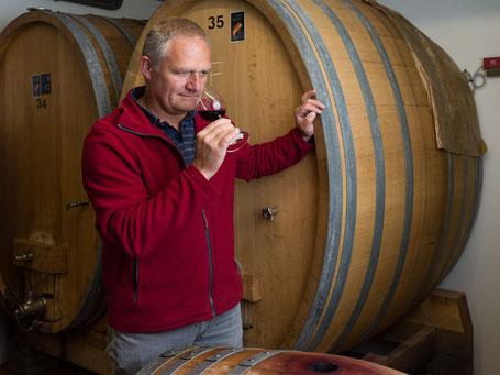 Guido Oeschger, Kellermeister & Betriebsleiter Weinbaugenossenschaft Wiler Trotte, Wil