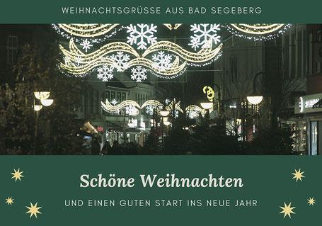 Weihnachtsbeleuchtung in Bad Segeberg