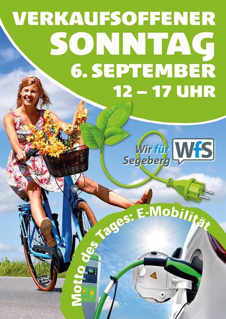 Plakat Verkaufsoffener Sonntag Bad Segeberg