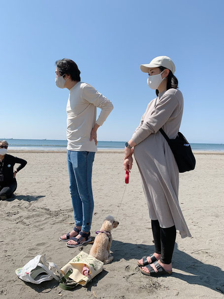 鎌倉御成り商店街に心療内科「恩田クリニック」を4月に開業された恩田院長ご夫妻も来てくれました。