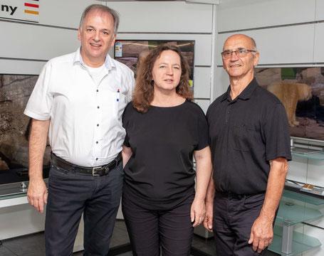Das Serviceteam von Dagmar Ottmüller Bild+Ton