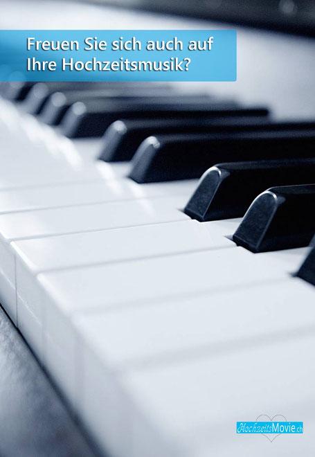 Die Hochzeit mit dem Piano begleiten