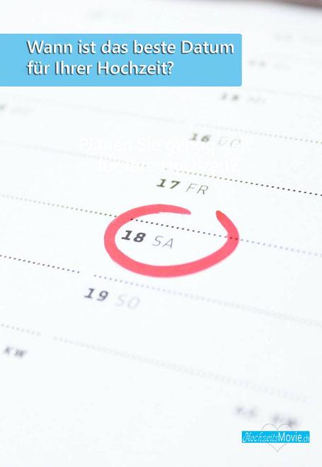 Das beste Hochzeitsdatum finden