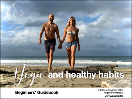 Yoganity Yoga and healthy habits Beginners Guidebook