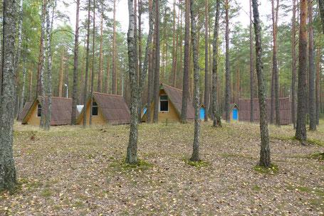 Das wird wohl unser Projekt für die nächsten Jahre werden: Wilija, ein seit Jahren leerstehendes Ferienlager