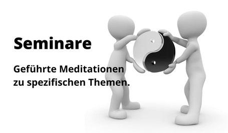 Seminare geführte Meditation Zürich