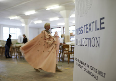 SWISS TEXTILE COLLECTION – Tag der Offenen Tür in Murg