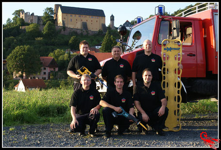 Gründungsteam von 2009 :  von oben rechts - Dirk Schiefer ( IC) , Thomas Beier, Matthias Gärtner, von unten rechts - Marcel Jordan, Thomas Böhm  und Michael Schüßler