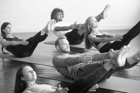 Pilates Gruppenkurse für Anfänger und Fortgeschrittene in Aarau und Rombach, Bodytime