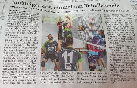 Quelle: Wilhelmshavener Zeitung 20.9.2019