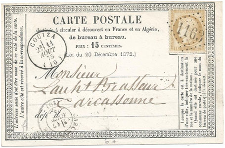 Les précurseurs de la carte postale moderne