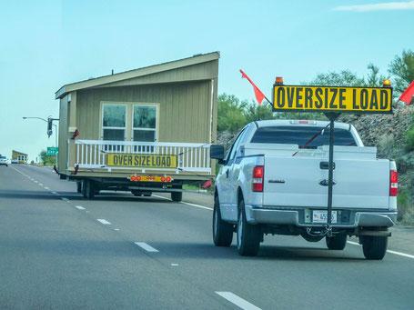 Transporte wie diese sind den USA keine Seltenheit