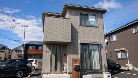 Magashi部の外観。お家の中がシェアスペースになっています。