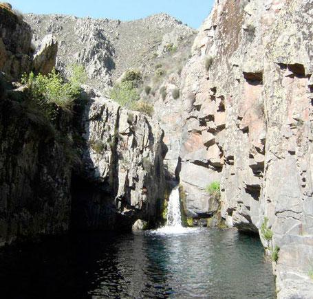 Piscinas naturales - Chorro de Valdesotos