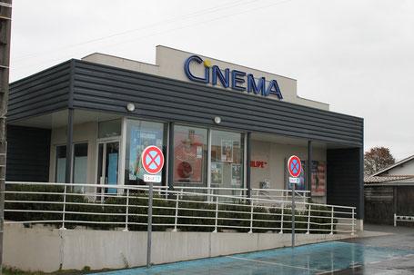 Le cinéma Gérard-Philipe, totalement rénové, sera de nouveau opérationnel à la rentrée. Photo M.M.