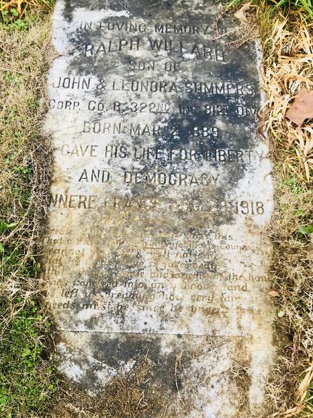 Tombe de Ralph - Ralph's grave - FindaGrave.com