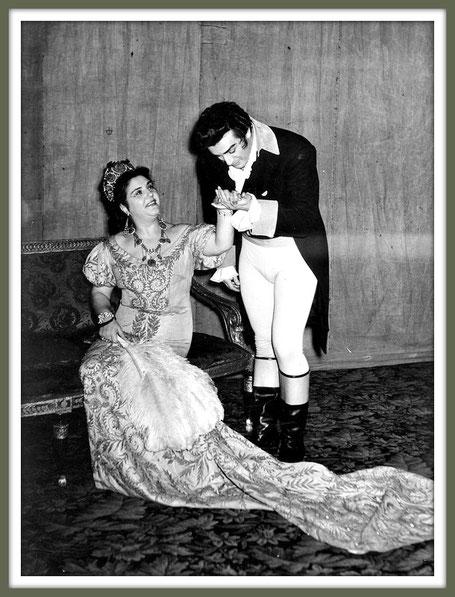 Mario Cavaradossi - TOSCA - Con Maria Caniglia - Torino 1955
