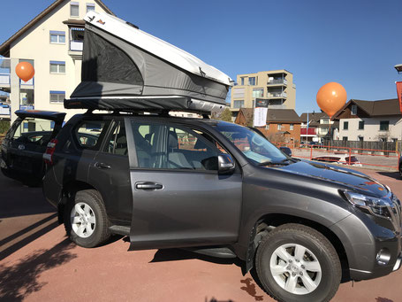 James Baroud Space auf Toyota Land Cruiser