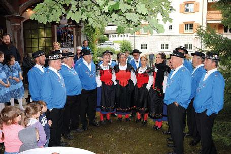 Das Jodelchörli Silvretta hat schon mehrmals an eidg. Jodlerfesten erfolgreich teilgenommen.