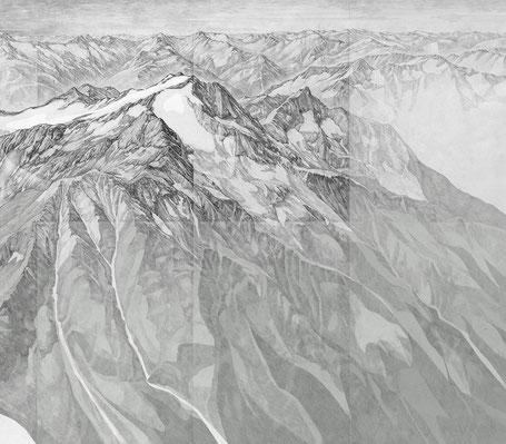 Ausschnitt vom Panorambild von Laura Meier, Klosters.