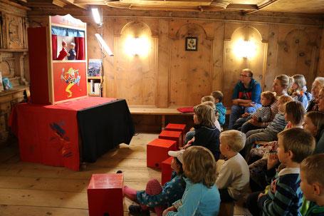 Auch dieses Jahr wird der Kasperli unsere Kinder besuchen.